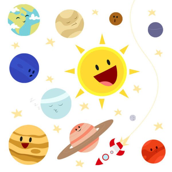 Sticker decorativ Giftify Bebe Cosmos