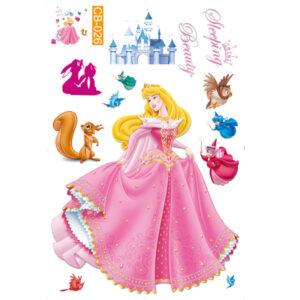 Sticker decorativ Giftify Frumoasa Adormita cu printesa Aurora Disney