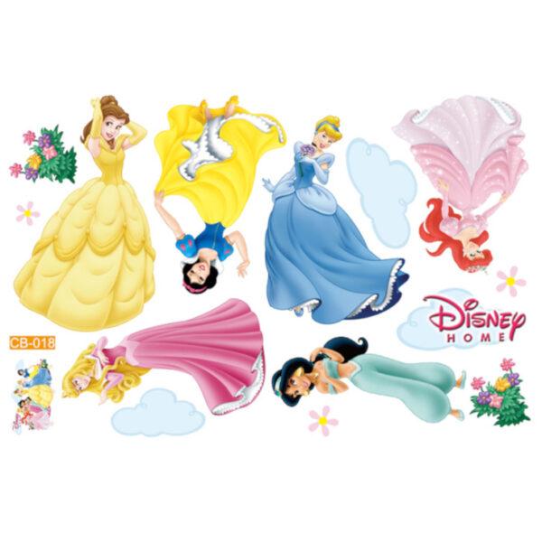 Sticker decorativ Giftify Printese de Basm cu 6 printese Disney