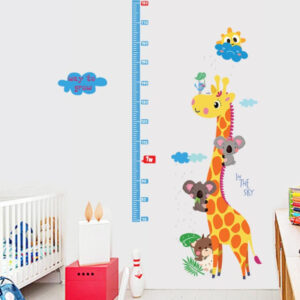 Sticker decorativ Giftify Metru Baby Girafa