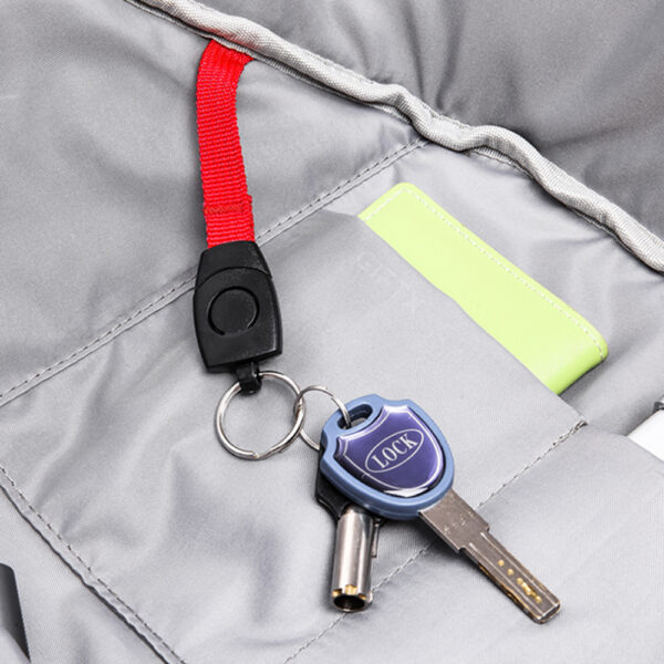 Rucsac profesional antifurt smart cu USB GiftX Ninja Black