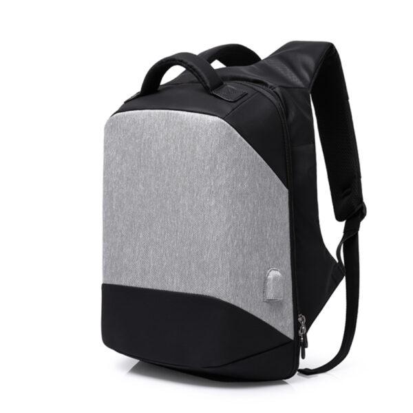 Rucsac profesional antifurt smart cu USB GiftX Ninja Gray